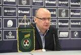Paskelbta Lietuvos futbolo rinktinės sudėtis rungtynėms su Liuksemburgu ir Serbija