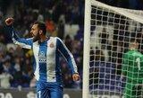 """""""Espanyol"""" minimaliu rezultatu įveikė """"Leganes"""""""