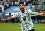 """L.Messi abejoja Argentinos galimybėmis """"Copa America"""" turnyre: """"Šį kartą nesame favoritai"""""""