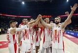 Serbija nusprendė oficialiai pasisiūlyti priimti Eurolygos finalines kovas