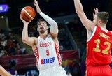 Būsimus Lietuvos rinktinės varžovus į pergalę vedė NBA žaidėjai