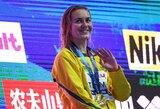 Pasaulio plaukimo čempionatą sudrebino 18-metės australės sensacija