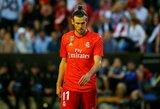"""""""Real"""" žinutė G.Bale'ui: arba pereina į kitą klubą, arba bus ištremtas į jaunimo komandą"""
