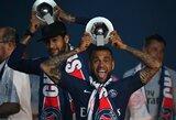 D.Alvesas oficialiai pranešė paliekantis PSG