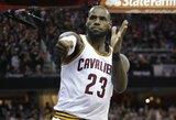 "Rekordinį puolimą demonstravusi ""Cavaliers"" nušlavė ""Warriors"" komandą"