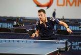 Airijoje – įtikinama Lietuvos vyrų stalo teniso rinktinės pergalė