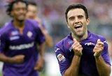 """G.Rossi palieka """"Fiorentina"""" klubą: """"Aš vėl noriu šypsotis"""""""