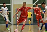 Futsal rinktinės narys D.Reimaris – apie trenerio kvietimą feisbuke ir mėgiamiausią užsienio lygą