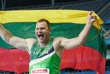 """Parolimpinį auksą iškovojęs M.Bilius: """"Viską stengsiuosi daryti, kad neįgaliųjų sportas Lietuvoje įgautų kažkokią prasmę"""""""