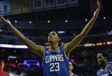 """L.Williamsas įspūdingu tritaškiu išplėšė """"Clippers"""" pergalę"""