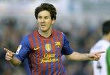 """L.Messi: """"Barcelona"""" klube noriu žaisti iki karjeros pabaigos"""""""