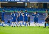 """""""Chelsea"""" vietiniame čempionate iškovojo ketvirtąją pergalę iš eilės"""