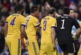 """G.Chiellini kaltinimai teisėjams: """"Praėjusiais metais """"Bayern"""", dabar mes... Jie palaiko """"Real"""""""