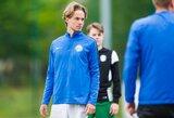 """NCAA rungtyniaujantis saugas E.Lotužys: """"Jaučiu privilegiją galėdamas žaisti futbolą Lietuvoje"""""""