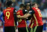 Pasaulio čempionato atranka: Belgija dramatiškai nugalėjo bosnius, Estija pasismagino su Gibraltaru
