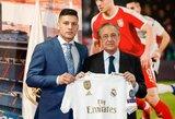 """Madride pristatytas L.Jovičius: """"Esu laimingiausias žmogus pasaulyje"""""""