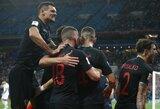 Pasaulio čempionato finale tokį mažą reitingą turinčios šalies kaip Kroatija dar nebuvo