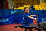 K.Riliškytė užsitikrino pasaulio jaunučių stalo teniso čempionato medalį
