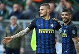 """""""Inter"""" argentiniečiai užsiautė ir padėjo savo komandai įmušti 7 įvarčius"""