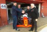 """Kartingo čempionui – kelialapis į """"Formula Renault 2.0"""" testus"""