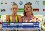 Lietuvės išmėgino jėgas Europos jaunimo meninės gimnastikos čempionate