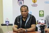 Kipre anksčiau dirbęs M.Barreto prieš debiutą UEFA Europos lygoje turi gerą nuojautą