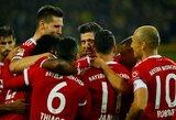 """""""Bayern"""" įsivažiuoja: svečiuose patiesta """"Borussia"""""""