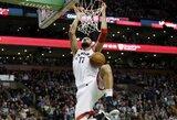 NBA paskelbė sezono tvarkaraštį: kada jį pradės J.Valančiūnas ir D.Sabonis?
