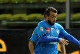 """""""Chievo"""" klubo gretas nuomos pagrindais papildė M.Rigoni"""