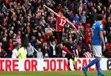 Anglijos futbolas išgyvena aukso amžių: lankomumas stadionuose siekia 60 metų neregėtas aukštumas