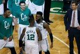 """""""Celtics"""" pergalės kalviu tapo karjeros pasirodymą surengęs ir rekordą pasiekęs J.Brownas"""