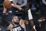 J.Valančiūnas dvigubą dublį įsirašė ir prieš NBA čempionus