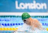 G.Titenis plauks dar viename Londono olimpiados pusfinalyje