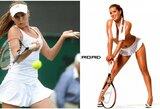 Žymi tenisininkė rado būdą kaip sutaupyti karantino metu – vaikšto be drabužių