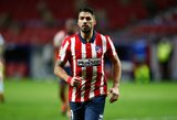 """L.Suarezo dublis neišgelbėjo: 89-ąją minutę įvartį praleidęs """"Atletico"""" apmaudžiai išleido pergalę iš rankų"""