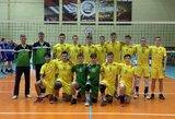 Lietuvos jaunimo tinklinio rinktinė - antrajame Europos čempionato atrankos etape