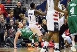 """""""Wizards"""" pergalė pažymėta 8 techninėmis pražangomis ir 3 išvarytais žaidėjais"""