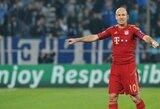 Keturi Anglijos futbolo gigantai domisi A.Robbenu
