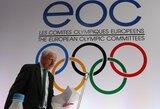 EOC: Naujosios Europos žaidynės nekonkuruos su Olimpiada