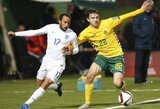 FIFA reitingas: Lietuvos kritimas tęsiasi, Belgija pakilo į pirmą vietą