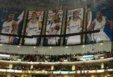 """""""Staples Center"""" arena rungtyniaujančios """"Clippers"""" ir """"Lakers"""" komandos įsivėlė į karą dėl uždengtų nuotraukų"""
