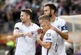 Pasaulio čempionato atranka: nuostabus A.Ringo įvartis padėjo Suomijai patiesti islandus