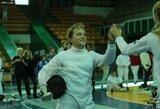 Tarp geriausių pasaulio jaunimo čempionato fechtuotojų V.Ažukaitė užėmė 43-ią vietą
