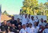 """Įspūdingas Lietuvos buriuotojų debiutas: pirmą kartą startavusi pasaulio čempionate """"Cool Water"""" įgula iškovojo sidabrą"""