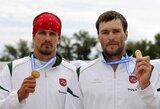 Europos baidarių ir kanojų irklavimo čempionate – R.Labucko ir T.Gadeikio triumfas