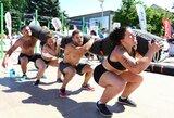"""Tarptautinėse """"CrossFit"""" varžybose Olimpinėje dienoje triumfavo svečiai iš Lenkijos"""