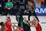 """Galingai startavusi """"Celtics"""" priartėjo prie Rytų finalo"""