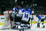 Korėją sutriuškinusi Estijos U-20 rinktinė pirmą kartą triumfavo IIA divizione