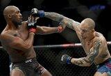 """""""UFC 235"""" kovotojų algos: J.Jonesas ir T.Woodley kartu uždirbo milijoną"""