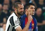 Nuo L.Suarezo įkandimo iki D.Maradonos dopingo: 10 futbolininkų, kurie susilaukė nuobaudų pasaulio čempionate